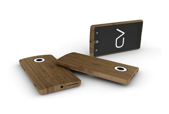 adzero Unique Smartphone with Bamboo Casing On its Way to Kickstarter Soon