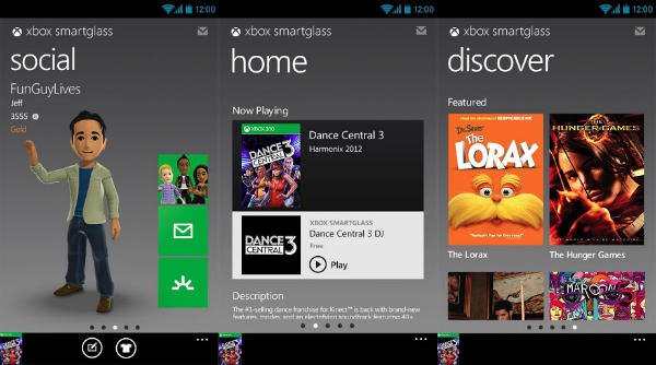 android-glass Microsoft SmartGlass app comes to Android