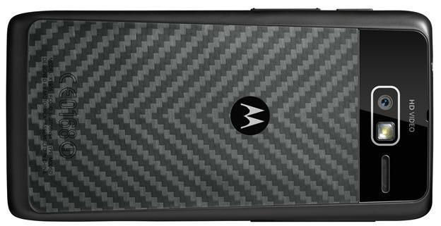 back Motorola Droid RAZR M Review