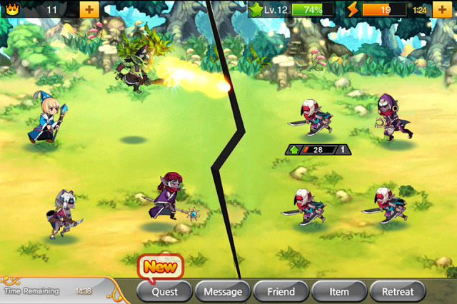 kr3 Game Review: Kingdom Royale for iPhone