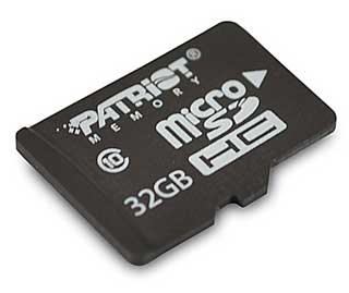 patriot_microsd Daily Deal: Save up to 80% on Class 10 Micro SD Cards