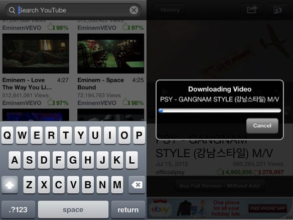 videotube3 Video Tube iPhone App Review
