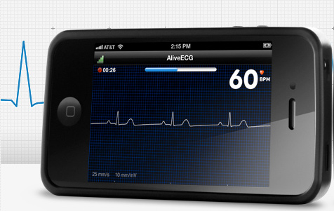 AliveECG-large iPhone Heart Monitor Due Next Month: AliveCor Gains FDA Approval