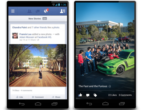 facebook-android Facebook for Android Finally Gets A Native App