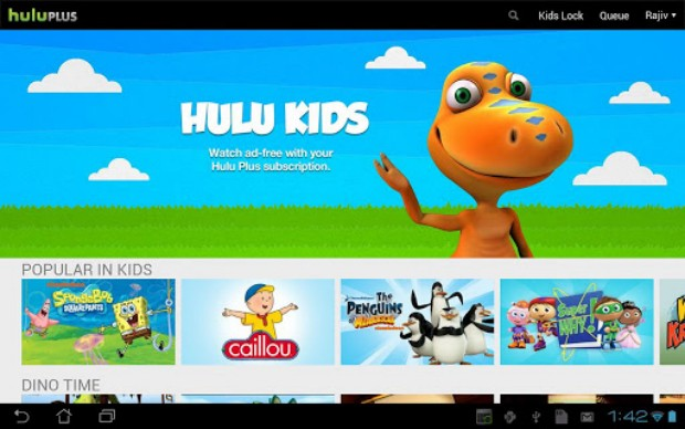 hulu-kids Hulu for Android Update Arrives, Adds New Kids Section to the Mix