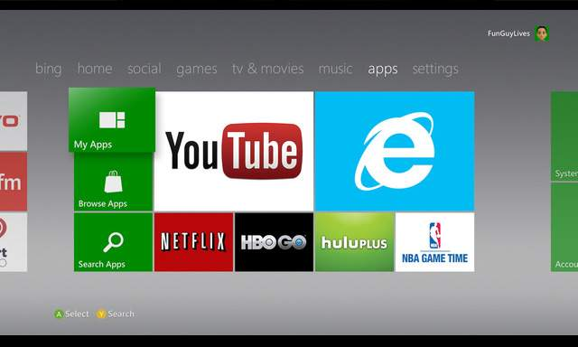 xbox-apps Over 40 new Xbox 360 apps On Their Way Between Now and Spring of 2013