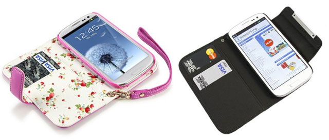 wallet-case-galaxys3 Daily Deals: 8 Great Discounts on Samsung Galaxy S3 Cases