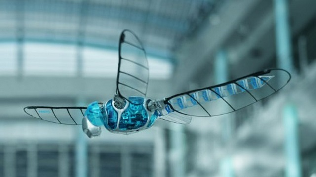 bionicopter BionicOpter Dragonfly Robot From Festo (Video)