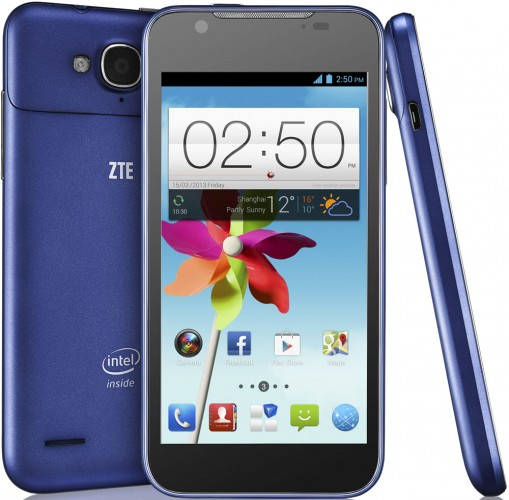 zte-intel ZTE Grand X2 is Powered By Atom Processor, Coming to Europe in the Fall