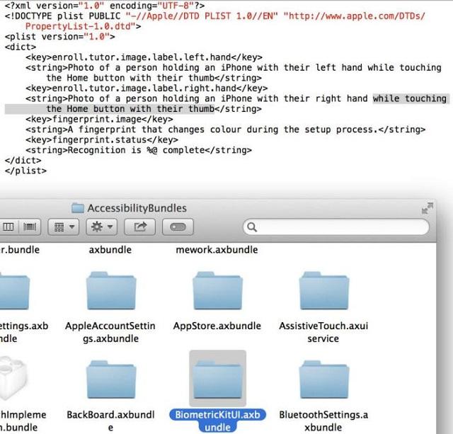 ios-7-beta Apple iPhone 5S Fingerprint Scanning Tech Confirmed?