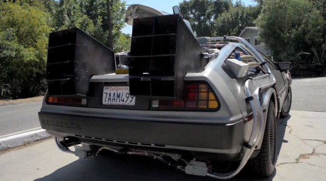 131009-delorean-640x355 Video: Meet the Real Life Back to the Future DeLorean Time Machine