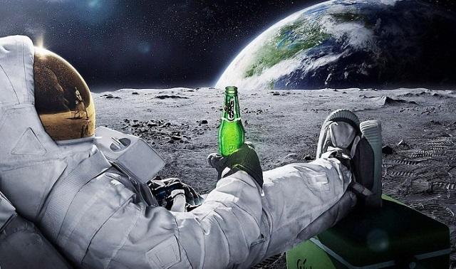 Beer-Space Brewing Beer In Space