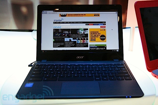 131115-acerchromebook New $200 Acer C270-2848 Chromebook Features Haswell Processor