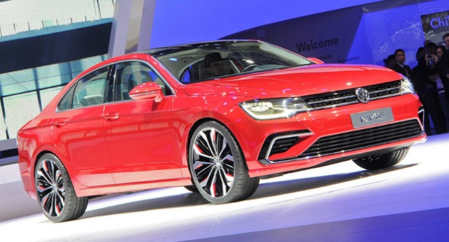 VW-Midsize-Coupe-0 Volkswagen's New Midsize Coupé Concept Could Be A Challenge For Mercedes-Benz CLA