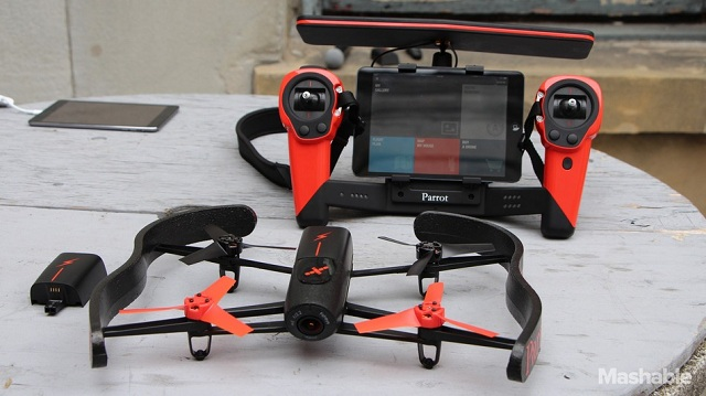 Parrot-Bebop Get A Bird's Eye View With Parrot's New Bebop Drone Flown By Oculus Rift