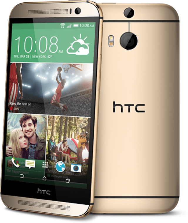 htc-one-m8-gold-hero HTC One M8 In Amber Gold for $99 (Today Only Offer)
