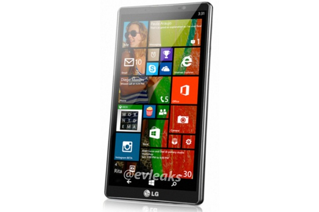 lg-windows-phone-evleaks LG Windows Phone 8.1 Handset Leaked