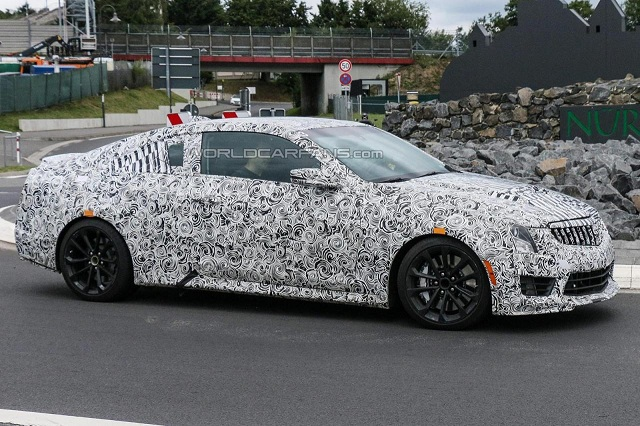 2016-Cadillac-ATS-V-Coupe 2016 Cadillac ATS-V Coupe, A Competitor To BMW M4, Spied in Germany