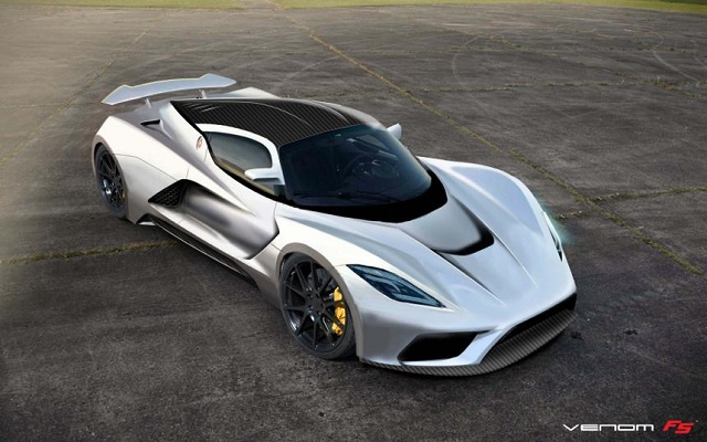 Hennessey-Venom-F5-1 Bugatti Veyron Successor Will Hit 286 mph, Says Report; Race On For Top Speed Record With Venom F5