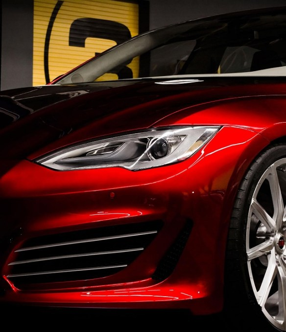 Saleen-FourSixteen-4 Tesla Model S-Based Saleen FourSixteen Officially Unveiled; Looks Sporty With Upgrades Meant For The Track