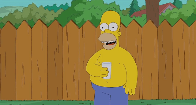 homer-simpson-als-ice-bucket-challenge-bart-simpson Bart Messes Up Homer Simpson's ALS Ice Bucket Challenge (Video)
