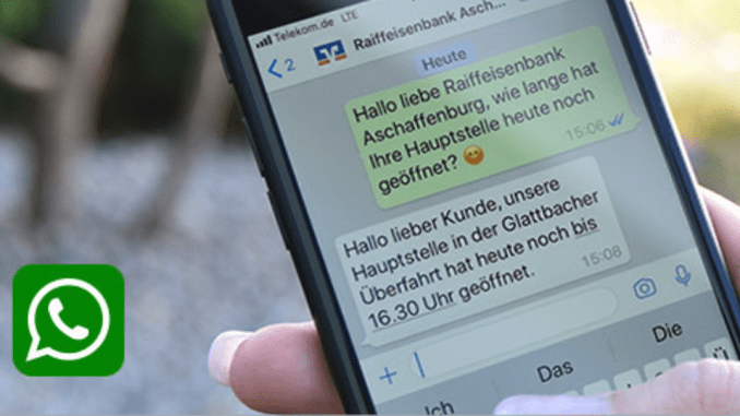 WhatsApp for Business : InfoBip signe avec Raiffeisenbank