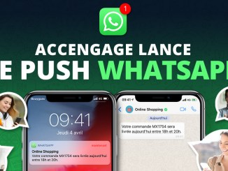 Accengage lance le Push WhatsApp