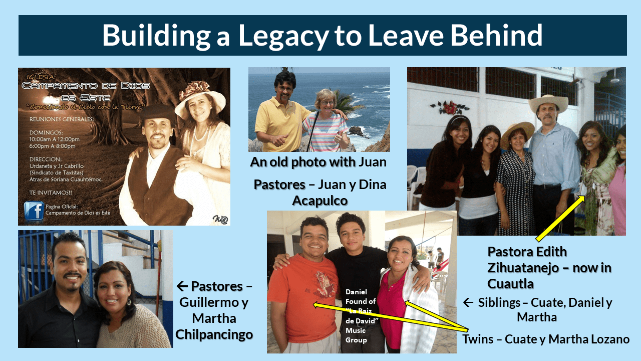 Building a Legacy to Leave Behind