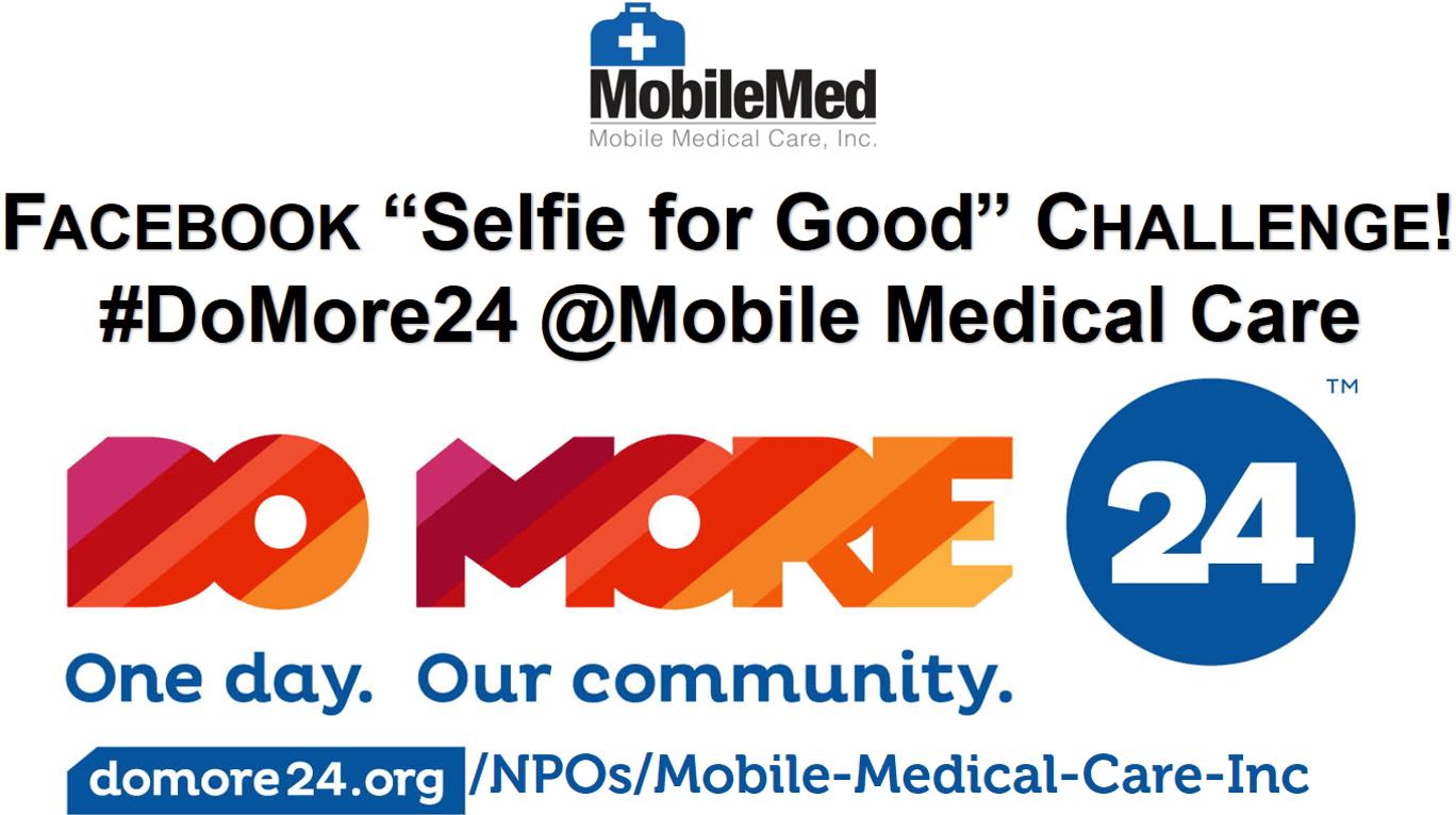 MobileMed Selfie for Good DoMore24