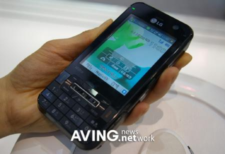 LG KC1 smartphone