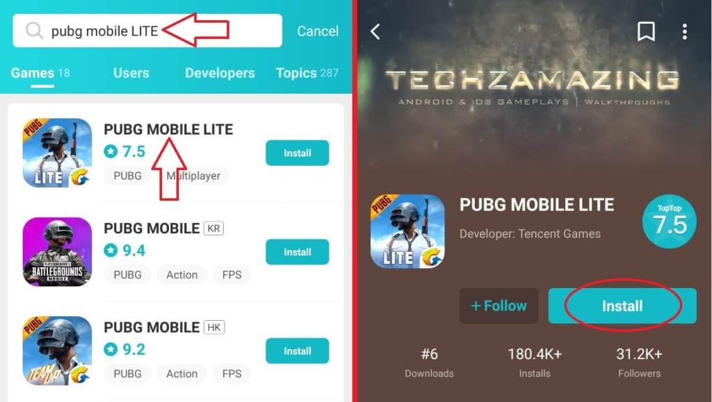 PUBG Mobile LITE Download
