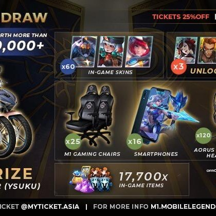 Mobile Legends World Championship Free Ticket Giveaway
