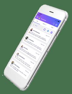 mobilemonkey chat app phone
