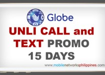 Globe Unli Call and Text 15 Days Promo Featured Image
