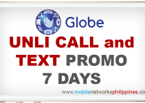 Globe Unli Call and Text 7 Days Promo