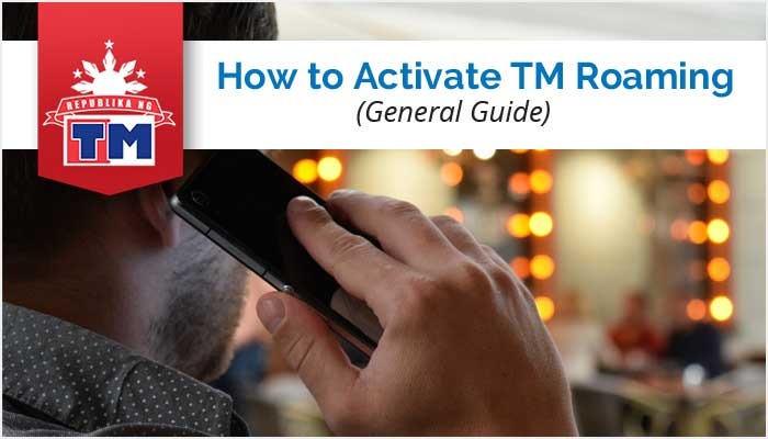 how to activate smart roaming while abroad