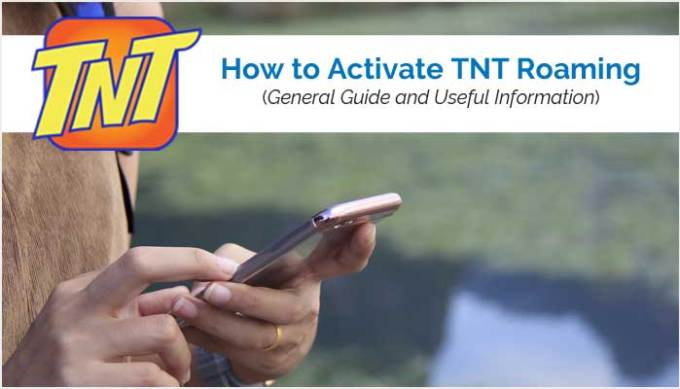 How to Activate TNT Roaming | Mobile Networks Philippines