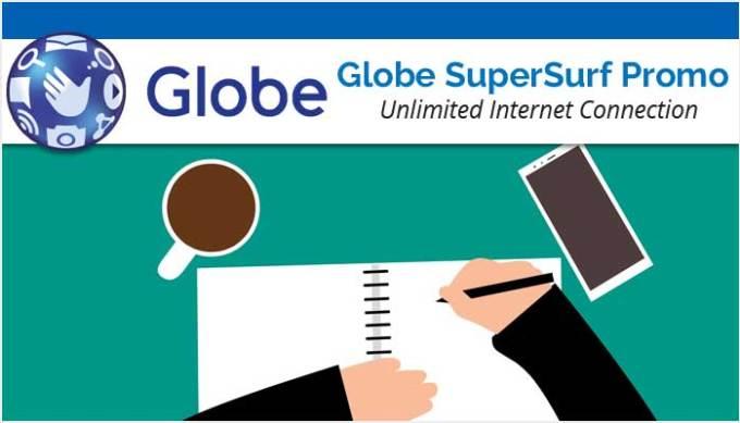 Globe SuperSurf Promo