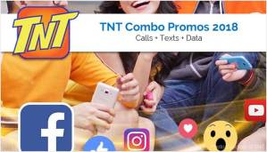 TNT Combo Promos - Calls Texts Plus Data