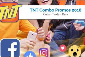 TNT Combo Promos - Calls Texts Plus Data