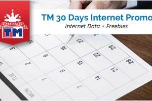 TM 30 Days Internet Promo