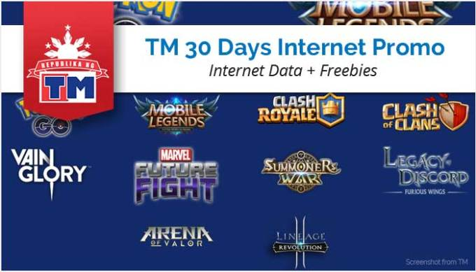 List of TM Games Promos - Mobile Legends, COC and more