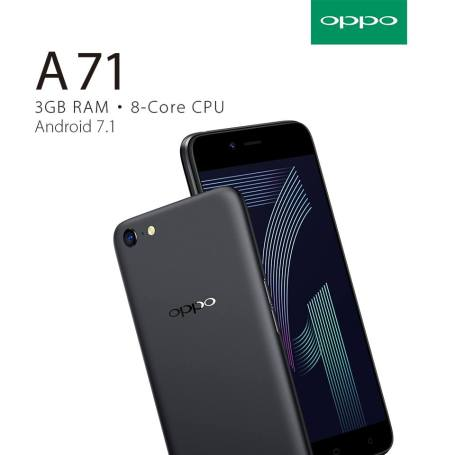 Oppo A71 Comes with 5-megapixel front-facing shooter Camera