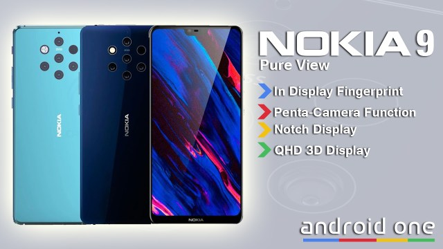 Nokia 9 PureView Features