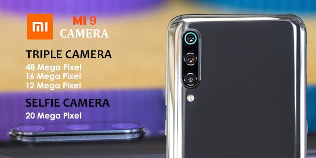 Camera of Xiaomi MI 9