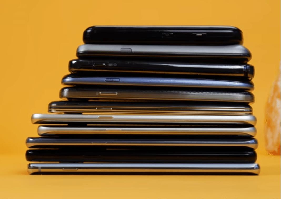 Porovnanie mobilov Samsung Galaxy 2009-2019