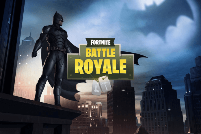 Batman a Fortnite