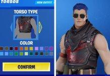 Character creator Koncept, ktorý by uľahčil Fortnite
