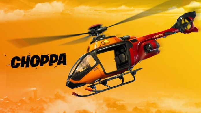 Fortnite-helikoptera