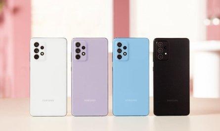 Galaxy A52 - все доступные цвета